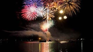 4th July Fireworks 2021, the biggest fireworks of July 4th. American Independence Day 2021