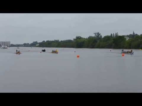 2014 Lake Superior Dragon Boat Race - Gold Heat 1