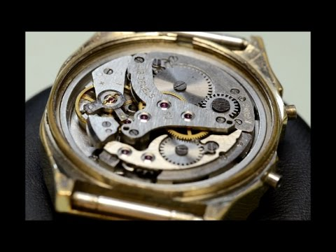 How to service an  watch Poljot 2612 Alarm repair tutorial part1