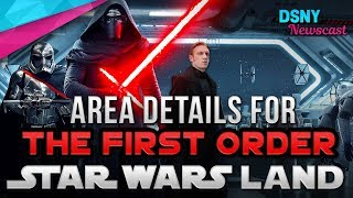 FIRST ORDER Details within Star Wars Land at Disneyland & Disney World - Disney News - 1/30/18