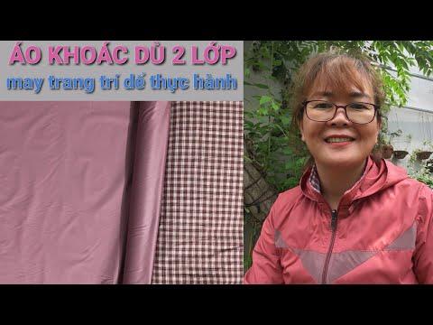 12 Mẫu Trang Trí áo Khoác Dù 2020 #01