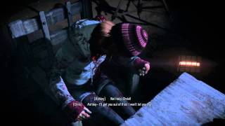 Until Dawn Chris Choice Shoot Ashley or Shoot Yourself