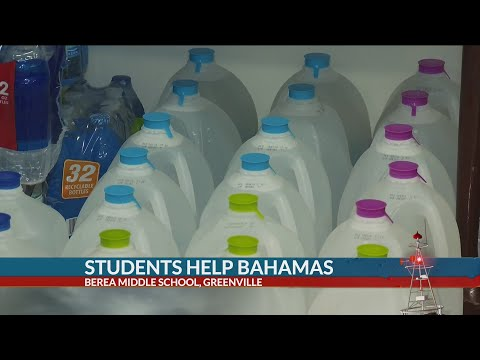 Berea Middle School collecting donations for hurricane relief