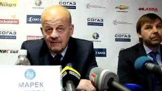 dinamo mn dinamo m 3th game press conference