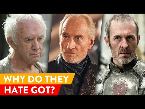 The Real Reasons Why These Celebs Can&39;t Stand Game of Thrones ⭐ OSSA Reactions