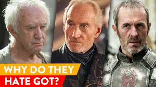 The Real Reasons Why These Celebs Can't Stand Game of Thrones |⭐ OSSA Reactions