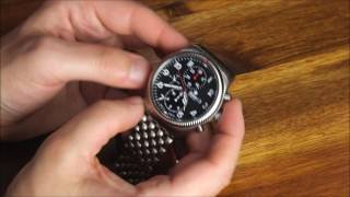 Tutima Grand Flieger Classic Chronograph Watch Review | aBlogtoWatch