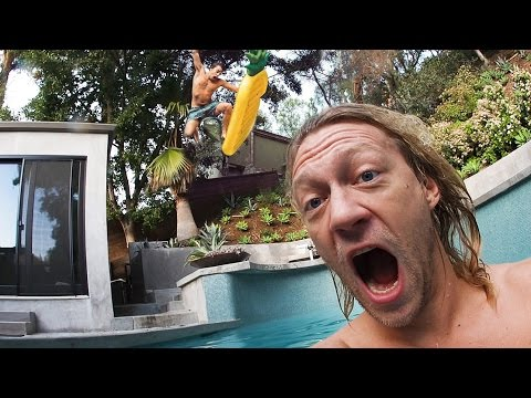 Thumbnail: ALMOST MISSED THE POOL! Jumping off my roof with a Pro Free Runner