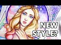 Drawing my Favorite Tarot Card!【Youtube Artist Collective】