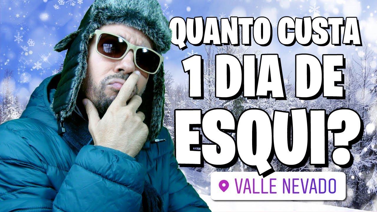 Temporada de neve Santiago do Chile: quanto custa 1 dia de esqui no Valle Nevado? (preços em reais)
