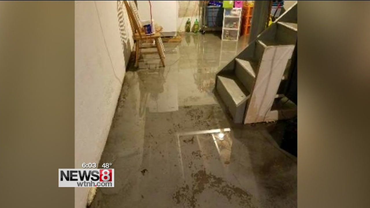 Days Of Rain Causing Basement Flooding All Over The State