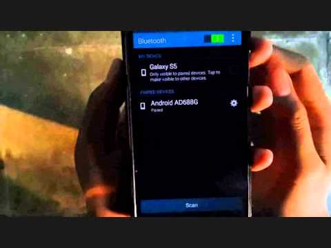 Samsung Galaxy S5 : How to share music via Bluetooth (Android Phone)