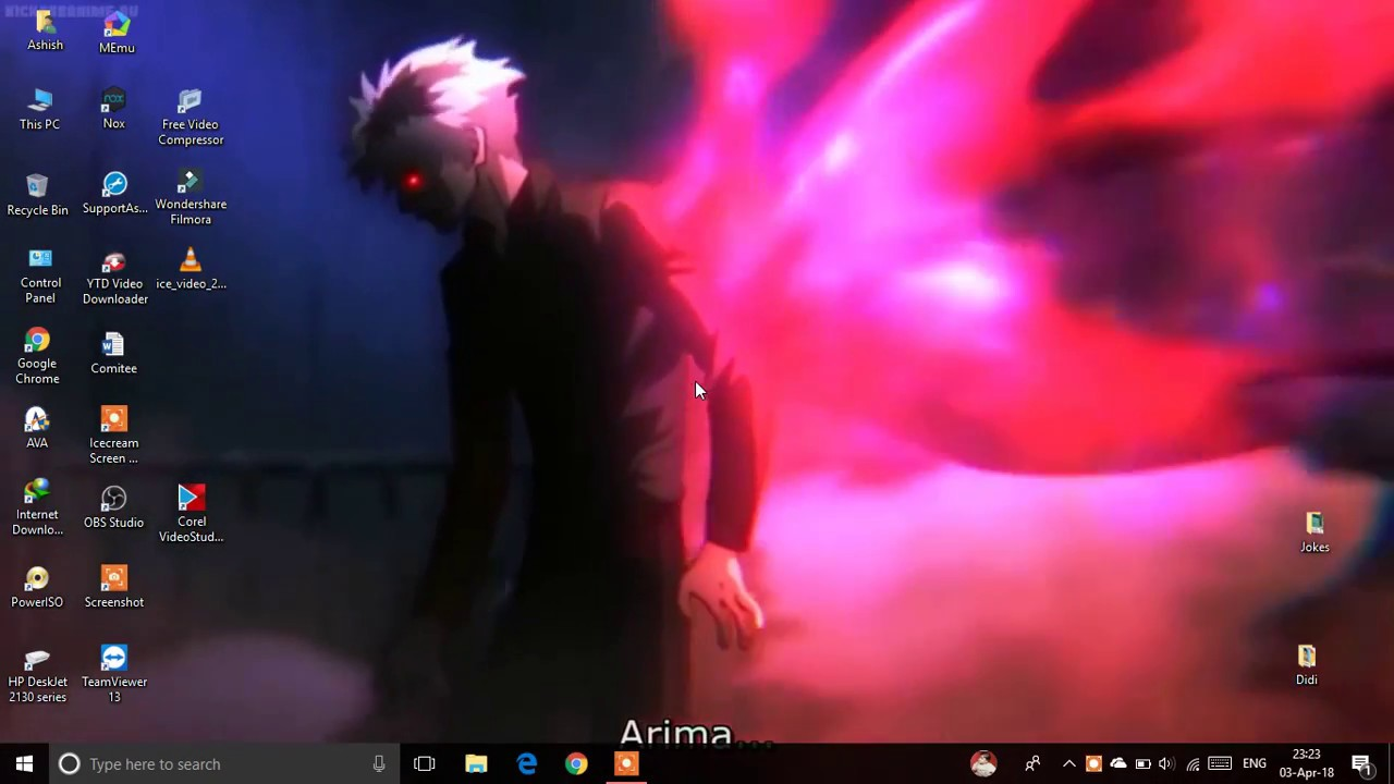 It S My New Live Wallpaper Tokyo Ghoul Re Youtube