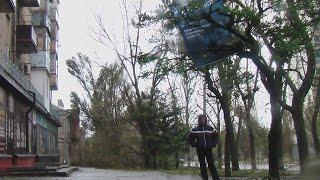 ураган в Бердянске(снято во время урагана., 2014-09-24T14:14:45.000Z)