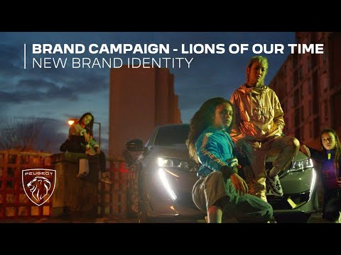 Lions of our time | Peugeot New Brand Identity