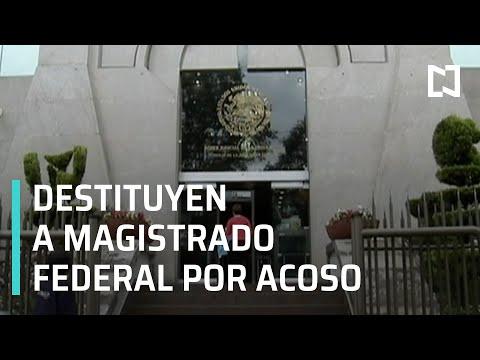 Magistrado federal es destituido por hostigamiento sexual y nepotismo - Las Noticias