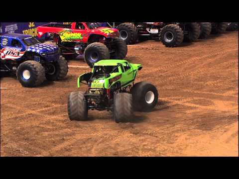 Monster Jam - Double Trouble Freestyle in Phoenix - January 25, 2014