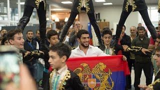 Армяне Красноярска встречают Миграна Арутюняна – Олимпийского Чемпиона (!) Рио-2016