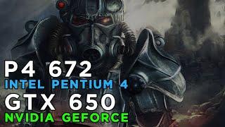 Fallout 4 running on Pentium 4 672 3.8GHz - GTX650 - 4GB RAM and Windows 7