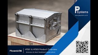 PhoenixTM 「HTS01 & HTS03」 Ultra High Temperature Profile System for Heat Treat l PP Systems