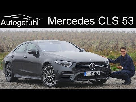 Mercedes CLS  REVIEW all-new 2019 AMG CLS 53 - Autogefühl