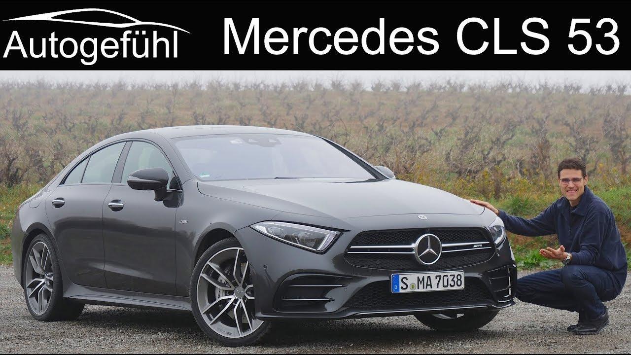 Mercedes CLS FULL REVIEW all-new 2019 AMG CLS 53 - Autogefühl - Dauer: 47 Minuten