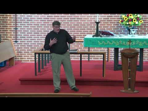 Pisgah Sunday Sermon 8/29/2021 -