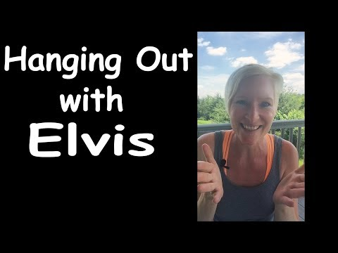 Elvis Channeling Casual Conversation With Great Insights At Above Life Channel