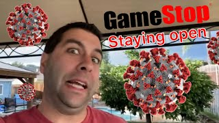 In Defense of GameStop STAYING OPEN During Corona Virus Pandemic