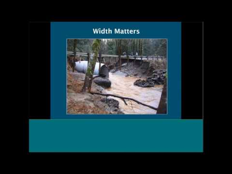 Integrating Climate Change Into Design & Permitting Of Water Crossing Structures