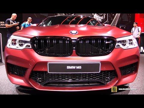 2018 BMW M5 Exterior and Interior Walkaround Debut at 2017 Frankfurt Auto Show