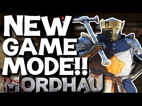 NEW INVASION GAME MODE!! You can BE the King!! Mordhau Gameplay