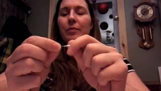How to attach Creation ou la la jewelry (Screw clasp )