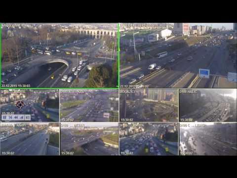 Trafik Kontrol Merkezi Kameralar