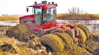 Tractors Stuck in mud COMPILATION 2016