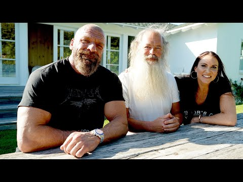 The Game meets with music icon Rick Rubin in Malibu: Triple H's Road to WrestleMania