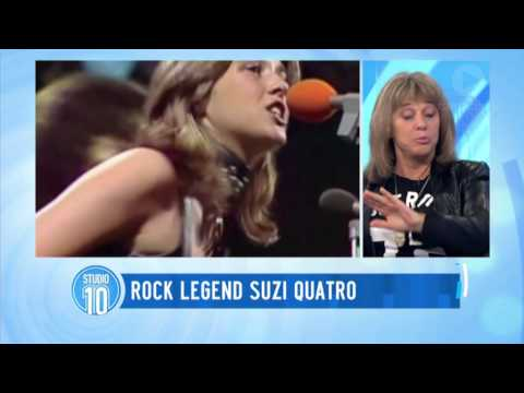 Interview with Rock Legend Suzi Quatro