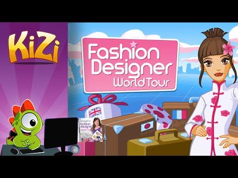 [Kizi Games] Fashion Designer World Tour → Full Gameplay