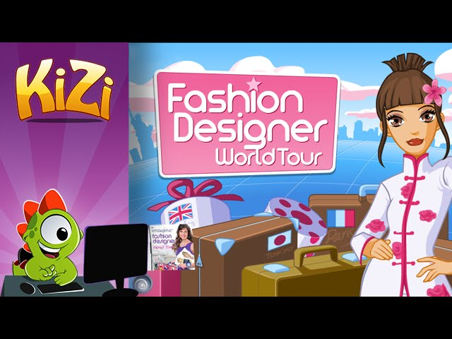 Kizi Games Fashion Designer World Tour Full Gameplay Youtube