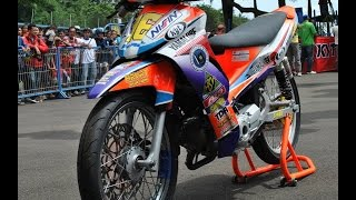 Motor Trend Modifikasi | Video Modifikasi Motor Yamaha Jupiter Z Road Race Terbaru Part 2