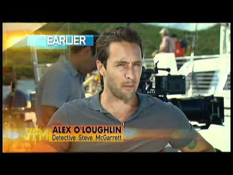 Alex O'Loughlin Interview On The 7pm Project - Hawaii 5-0