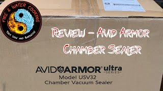 Review of the Avid Armor USV32 Ultra Affordable Chamber Vacuum Sealer