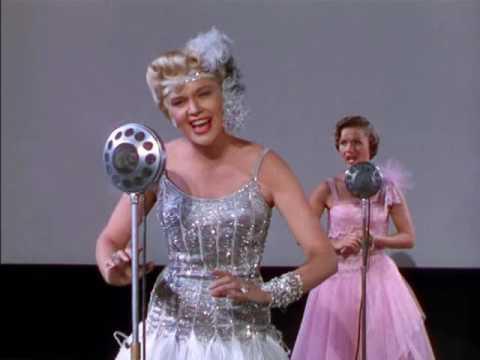 Debbie Reynolds, Jean Hagen Поющие под дождём - Момент истины