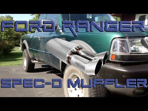 2000 Ford Ranger 4.0L OHV | Spec-D Dual Tip Muffler Exhaust