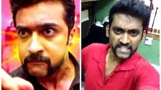 actor surya dubsmash s3 si3 suriya telugu dubsmash 2017