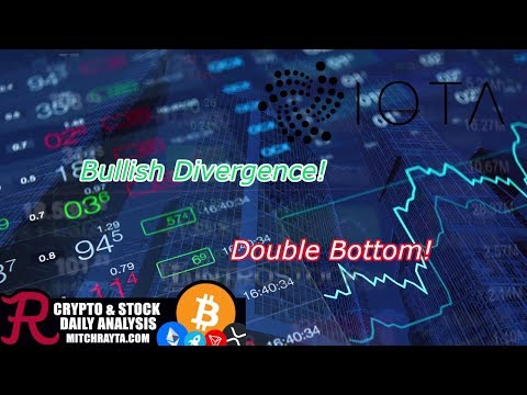 IOTA : Break Out, Divergence, Double Bottom, Oh My! Crypto Technical Analysis