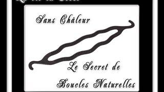 Mes boucles naturelles sans Châleur: Accessoire à Chignon mais pas que... ♥ La Vie en Rose