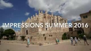 Mallorca Island - 4K Impressions Summer 2016 (incl. Drone Flight, Time Lapse)