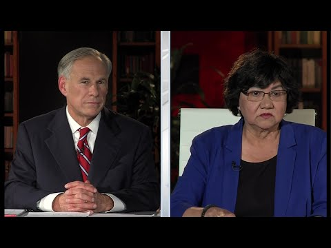 Texas Governor's Debate Between Gov. Greg Abbott And Lupe Valdez
