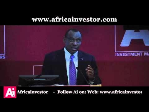Hon. Claver Gatete, Minister of Finance and Economic Planning, Rwanda, Ai CEO Investment Summit 2015